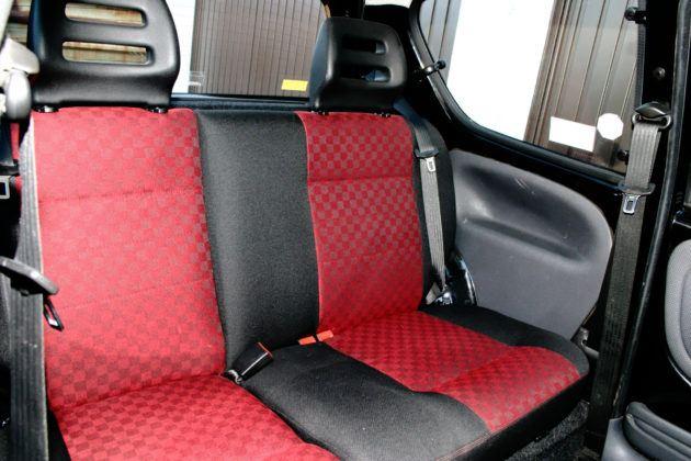 Fiat Seicento Sporting - tylna kanapa