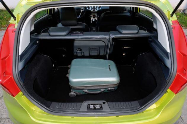 Używany Ford Fiesta VII - opinie - bagażnik