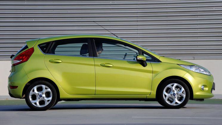 Używany Ford Fiesta VII - opinie - bok