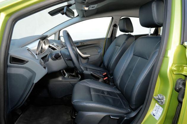 Ford Fiesta VII - fotel kierowcy