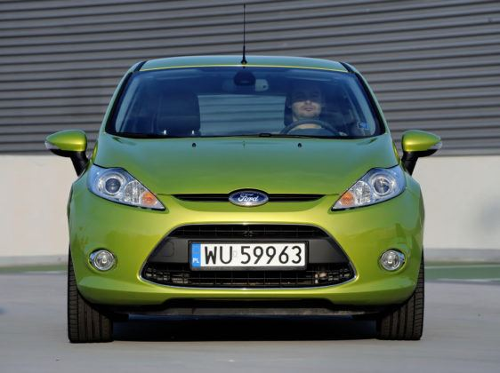 Używany Ford Fiesta VII - opinie - przód