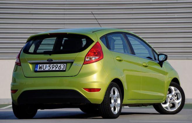 Ford Fiesta VII - tył