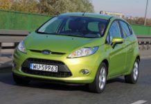 Ford Fiesta VII - otwierające