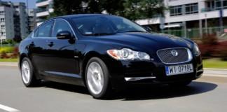 Jaguar XF - otwierające