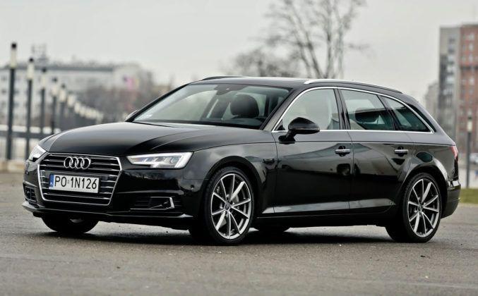 Klasa średnia - najlepszy - Audi A4 (sylwetka)