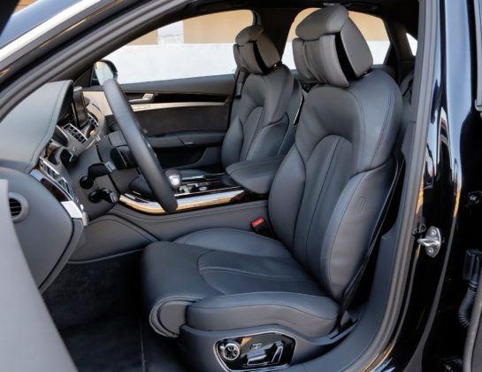 Klasa wyższa - najlepszy - Audi A8 (fotel kierowcy)