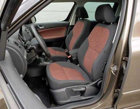 Kompaktowe SUV-y - najgorszy - Skoda Yeti (fotel kierowcy)