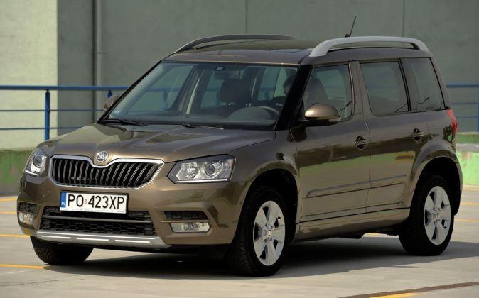 Kompaktowe SUV-y - najgorszy - Skoda Yeti (sylwetka)