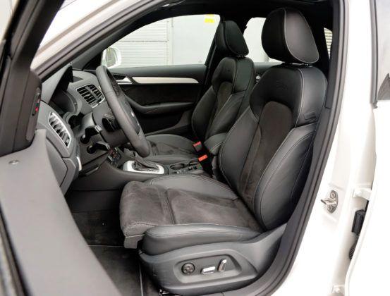 Kompaktowe SUV-y - najlepszy - Audi Q3 (fotel kierowcy)