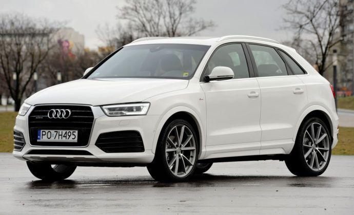 Kompaktowe SUV-y - najlepszy - Audi Q3 (sylwetka)
