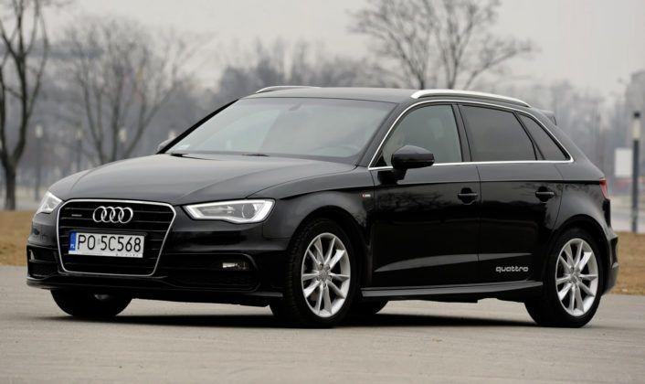 Kompakty - najlepszy - Audi A3 (sylwetka)
