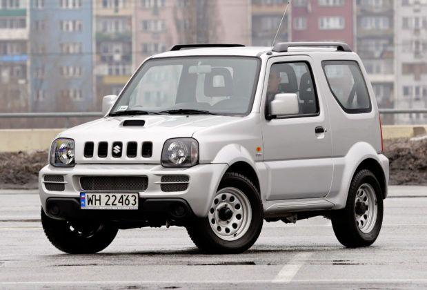 Miejskie SUV-y - najgorszy - Suzuki Jimny