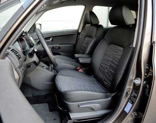 Minivany - najlepszy - Kia Venga (fotel kierowcy)