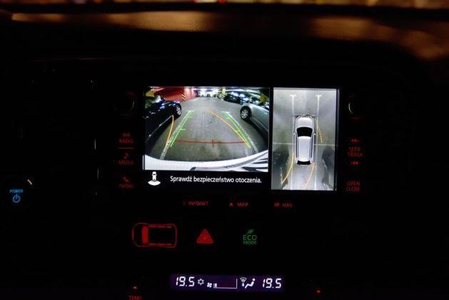 Mitsubishi Outlander PHEV - kamery