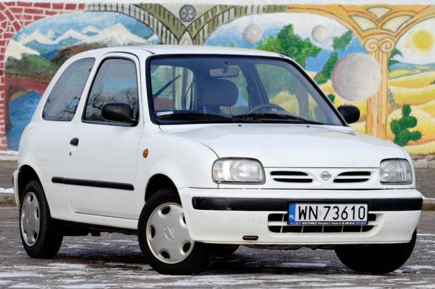 Nissan Micra K11 - przód