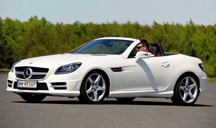 2-3 letnie - najlepszy - Mercedes SLK