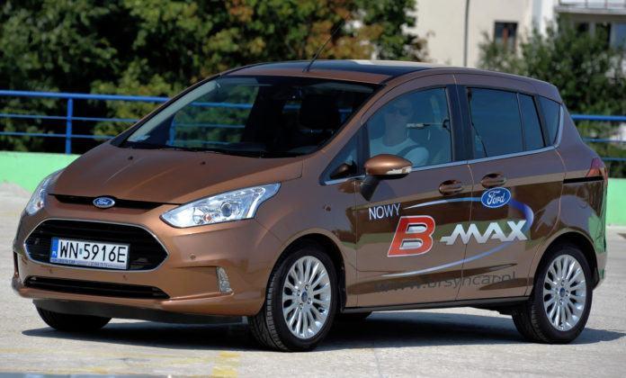 Brak słupka środkowego - Ford B-Max