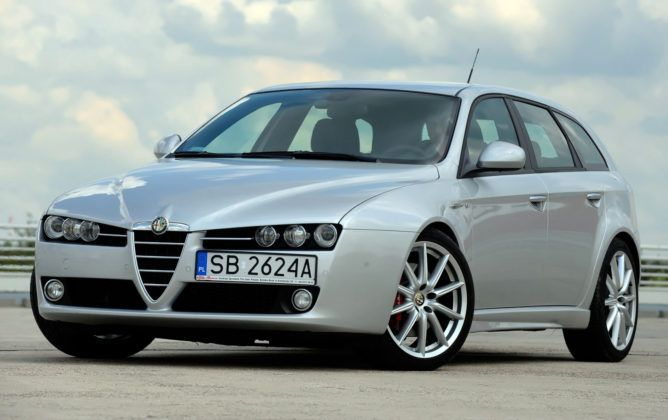 Alfa Romeo 159 TBi - przód