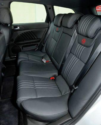 Alfa Romeo 159 TBi - tylna kanapa