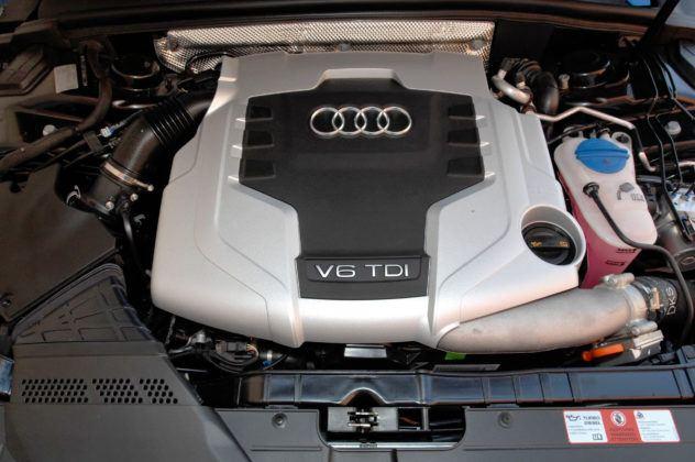 Audi A4 3.0 TDI - silnik