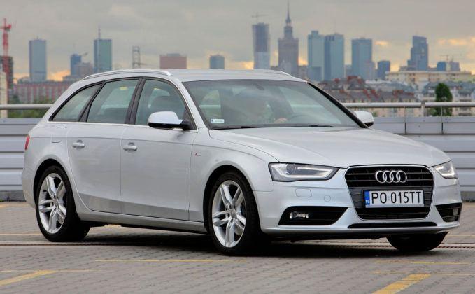 Audi A4 3.0 TDI - przód