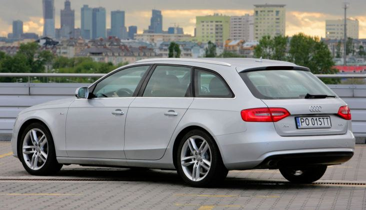 Audi A4 3.0 TDI - tył