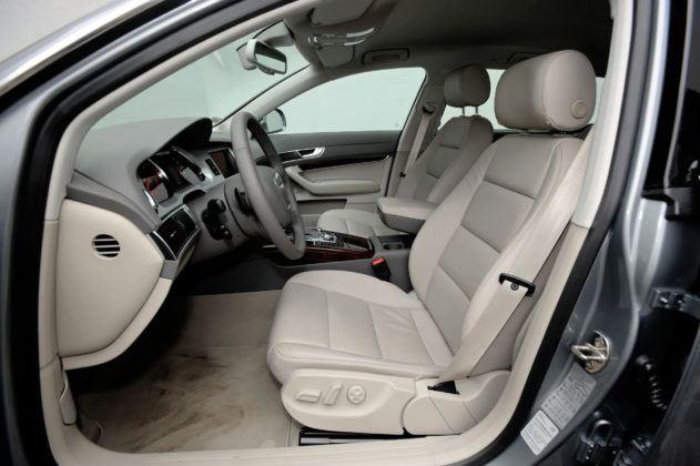 Audi A6 4.2 - fotel kierowcy
