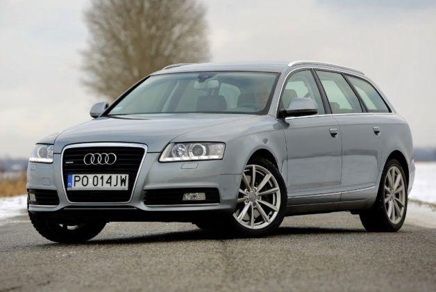 Audi A6 4.2 - przód