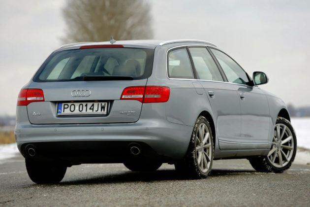 Audi A6 4.2 - tył