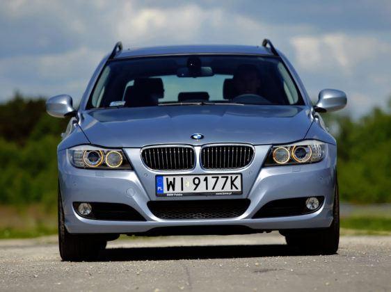 BMW 330d - przód