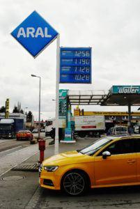 Ceny benzyny w Luksemburgu