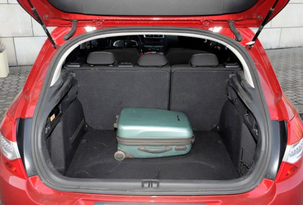 Citroen C4 II - bagażnik