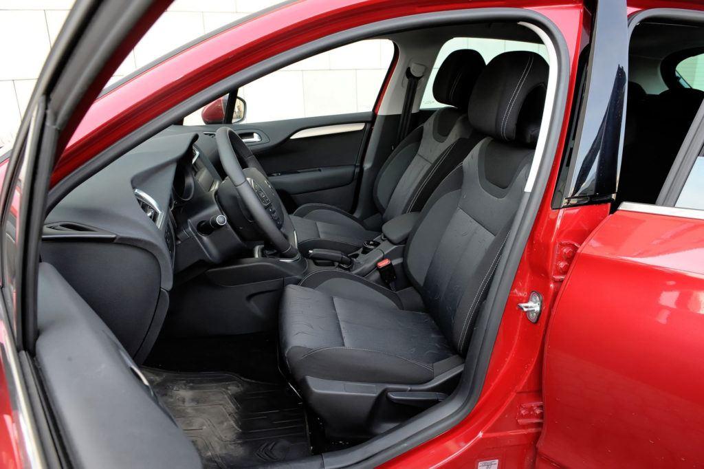 Używany Citroen C4 II - opinie użytkowników / fotel kierowcy