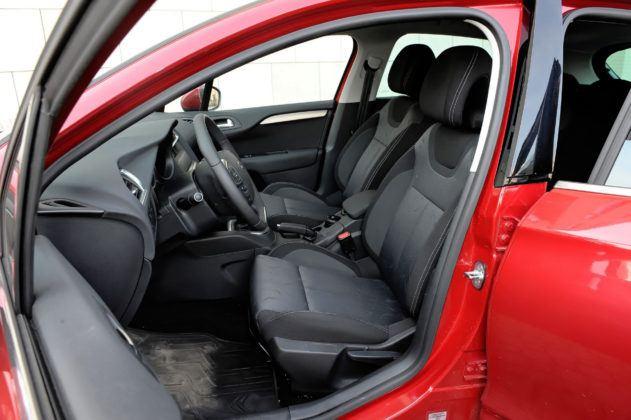 Citroen C4 II - fotel kierowcy