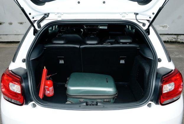 Citroen DS3 - bagażnik