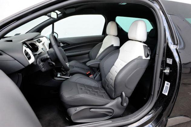 Citroen DS3 - fotel kierowcy