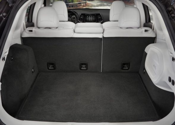 Jeep Cherokee- bagażnik