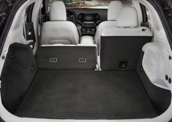 Jeep Cherokee - bagażnik