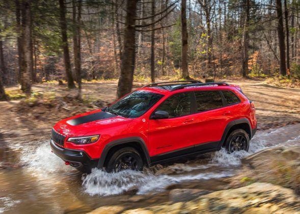 Jeep Cherokee - bok