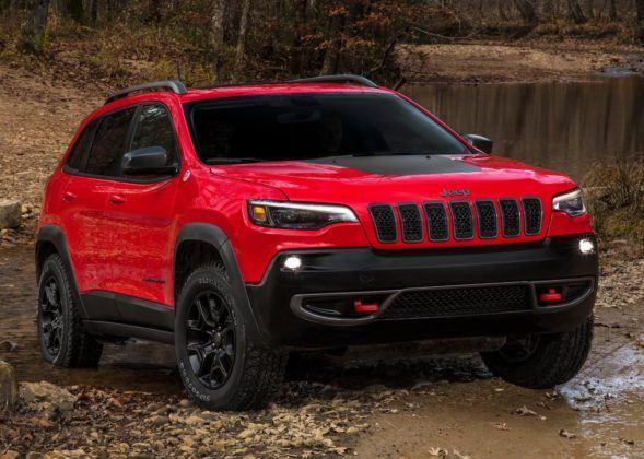 Jeep Cherokee - przód