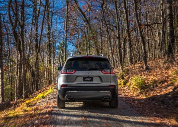 Jeep Cherokee - tył