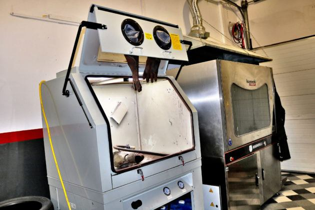 Maszyny do płukania filtra DPF