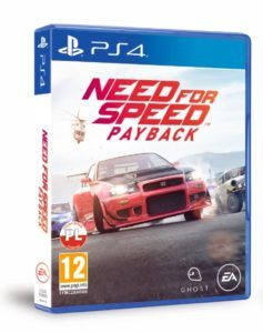 Need for Speed Payback - pudełko PS4