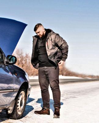 Zimowe problemy z samochodem