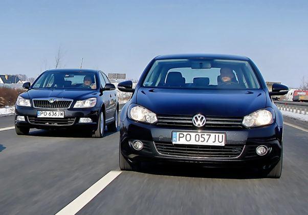 Skoda Octavia i Volkswagen Golf
