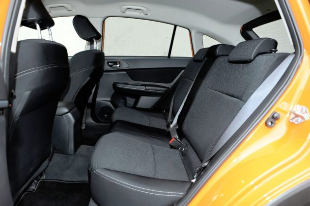 Subaru XV - tylna kanapa