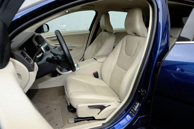 Volvo V60 - fotel kierowcy