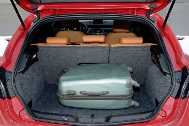 Alfa Romeo Giulietta - bagażnik