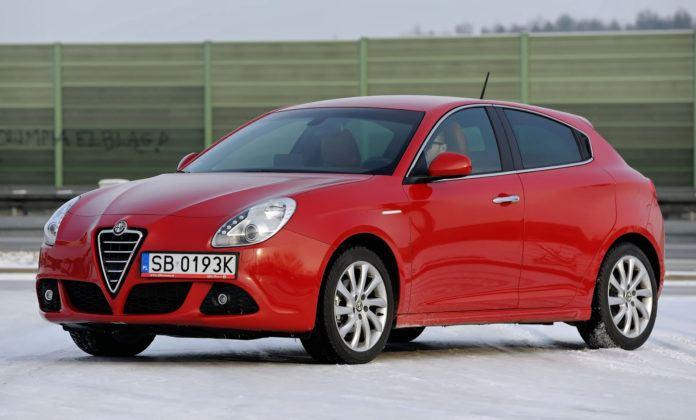 Alfa Romeo Giulietta - przód