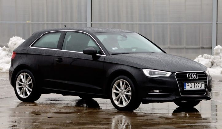 Audi A3 III - przód